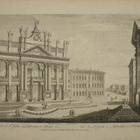 View of St. John of Lateran Basilica, Rome