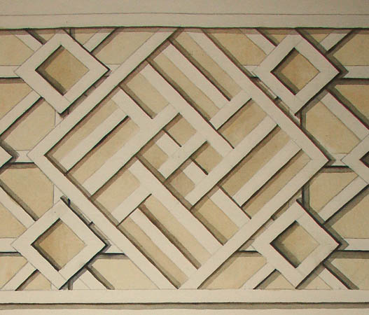 Lattice Ceiling Panel Design