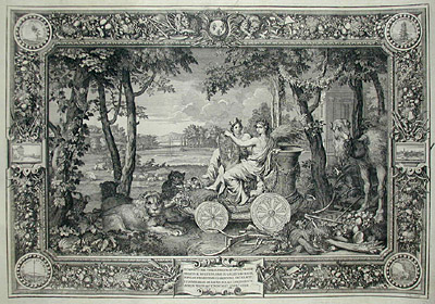 Allegorical Tapestry of Earth (Sold)