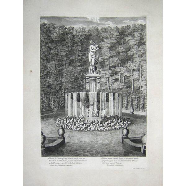 Statue de bronze d'une Venus