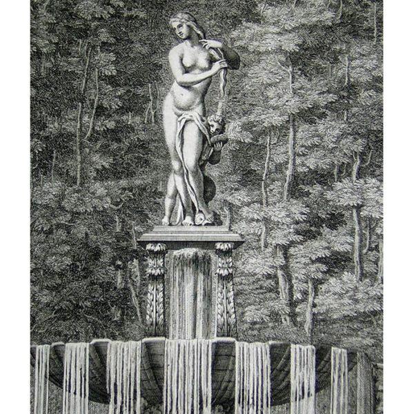 Statue de bronze d'une Venus, detail