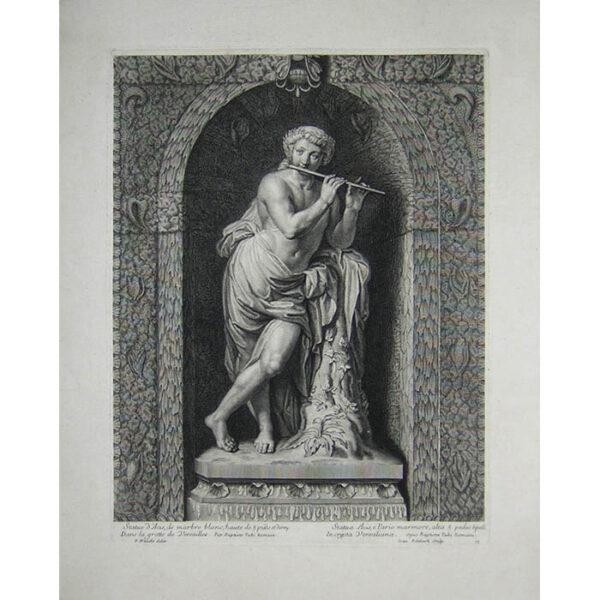 Statue d'Acis, de marbre blanc