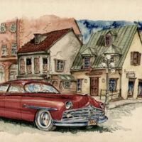 Lincoln Car Advertisement - Quebec
