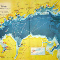 Map, Western Long Island Sound, Yachting Club