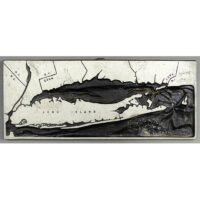 Topographical Map, Long Island