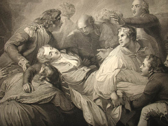 Thomas Stothard: The Death of Lord Robert Manners