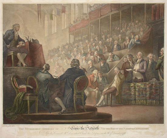 Louis XVI Final Address, 1792