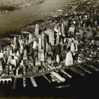 Birdseye View of Lower Manhattan