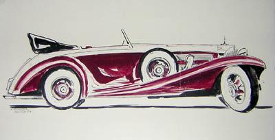 1938 Mercedes Benz 540K