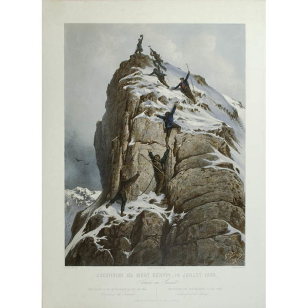 The Ascent of the Matterhorn, On July 14, 1865