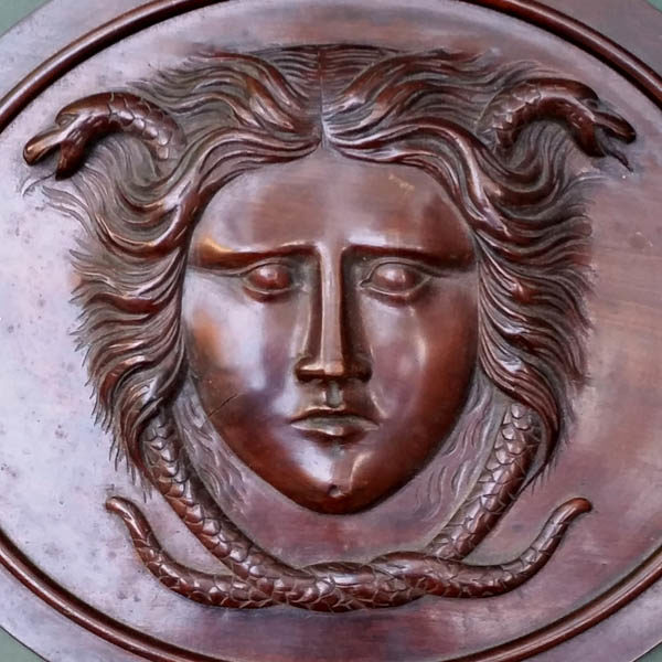 Medusa Plaque detail