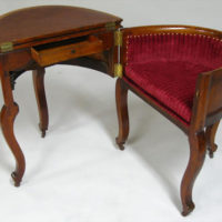 Library Furniture, Victorian Metamorphic Combination Table, Desk and Chair