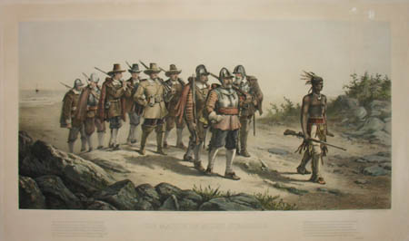 The March of Miles Standish
