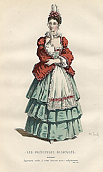 Costume Illustrations, Plays by Molière