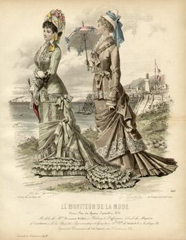 Fashion Illustration, Le Moniteur de la Mode