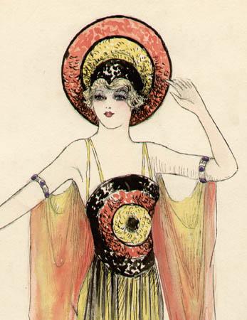 Costume Designs, Musical Comedy