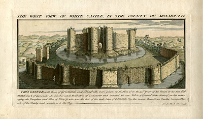 The West View of White Castle in the County of Monmouth
