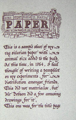 More Papers Handmade by John Mason