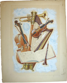 Trophy of Musical Instruments