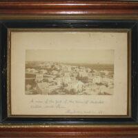 View of Nantucket in 1881