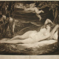 Sleeping Nymph by John Hoppner