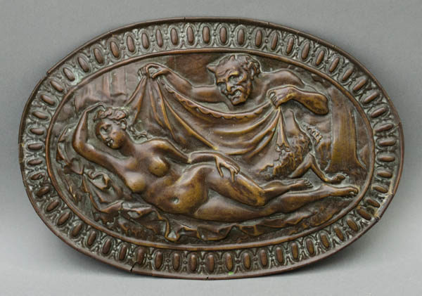 Relief, Sleeping Nymph and Satyr