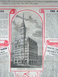 New York Tribune, New York City