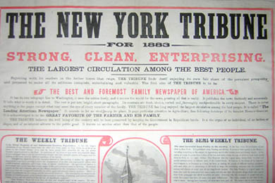 New York Tribune, New York City