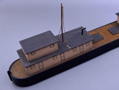 """Model Boat, Ohio River Steamer """"New Orleans"""""""