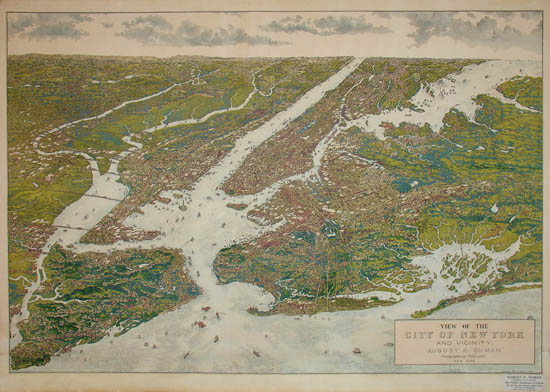 View, New York City and Vicinity