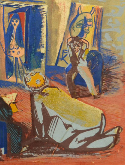 Picasso Study Club, detail