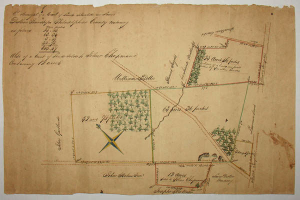 Manuscript Map, Pennsylvania, Lower Dublin Township