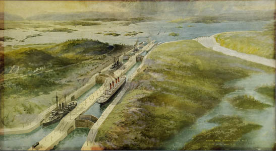 Pacific Meet: The Panama Canal To-Day