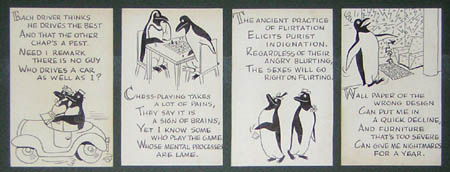 Penguin Illustrations and Verse