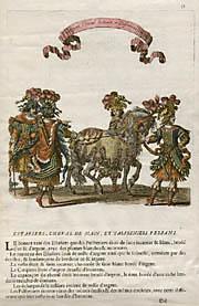 Estafiers, Cheval de Main, et Palfreniers Persans (Plate 31)