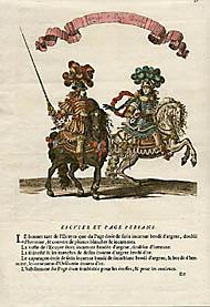 Escuyer et Page Persans (Plate 32)