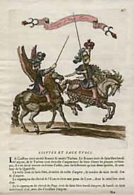 Escuyer et Page Turcs (Plate 40)