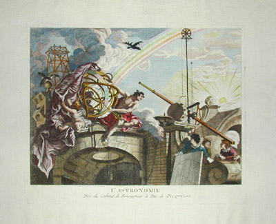 Allegorical Prints about Science