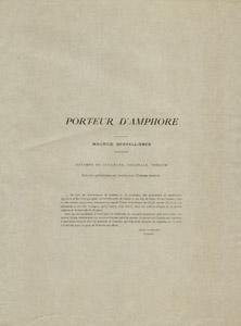 Porteur D'Amphore [Amphora Carrier]