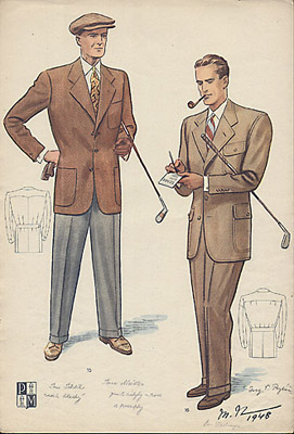 Fashion Designs, Men's, Pánská Moda
