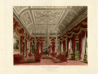 Crimson Drawing Room - Carlton House