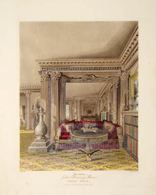 The Alcove - Golden Drawing Room - Carlton House