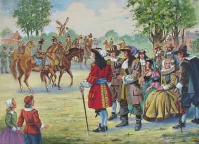 First Horse Race, Garden City, Long Island