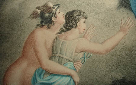 Cupid and Psyche on Mount Olympus