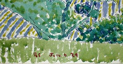 Rene Clark Original Watercolor