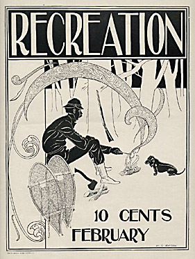 Posters for Recreation Magazine