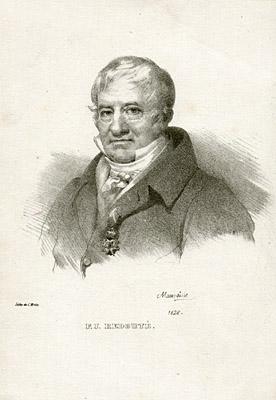 Portrait of Pierre-Joseph Redouté (1759-1840)