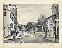 Drawings of Old New York by Henry E. Rile, c. 1914