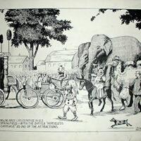 Ringling Bros. Circus Parade in Old Springfield
