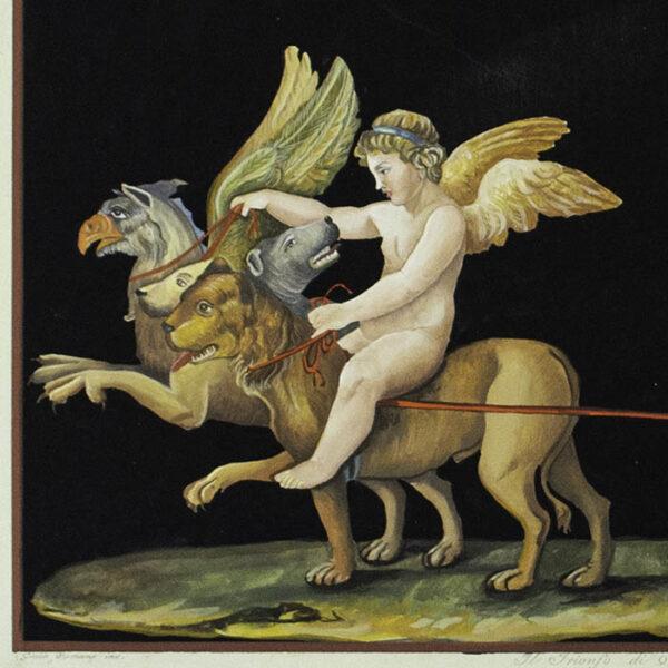 Il Trionfo di O Amore [The Triumph of Love], detail